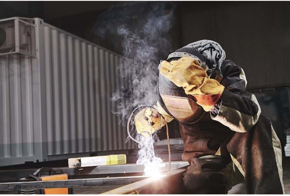 Different kinds of welding helmets