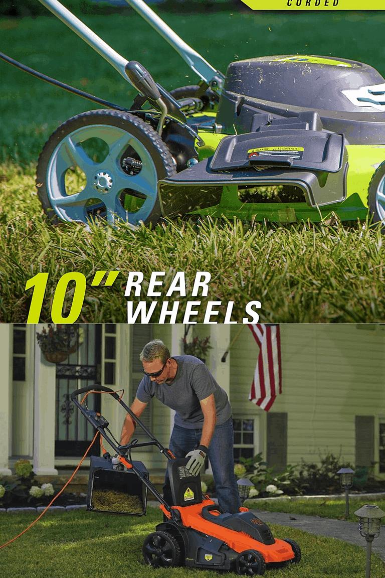 corded vs cordless lawn mower